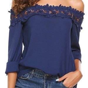 Off shoulder blouse